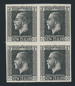 New Zealand King George V proof
