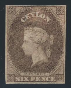 Ceylon #2 plate proof
