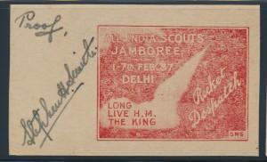 1937 Boy Scouts All-India Jamboree