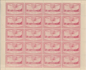 Canada #CL3 sheet of twenty