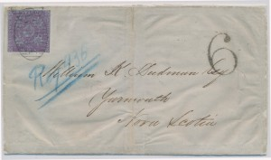 Lot 743 NB #3 on letter