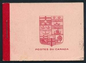 Lot 808, Canada 1912 2c carmine Admiral booklet XF stamps, realized $460