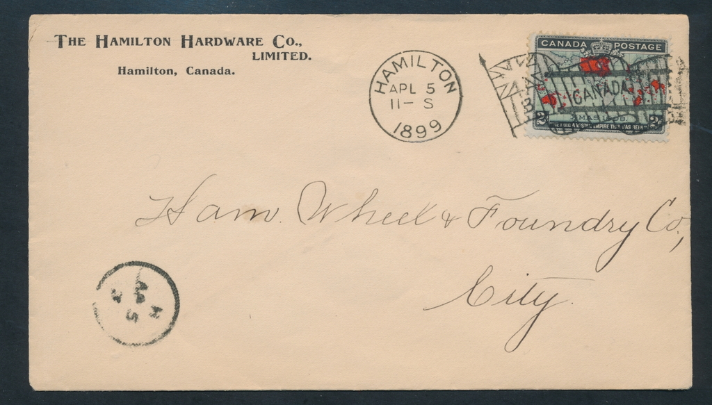 Nederland Special Interesting Cancels. Lot 10 Covers
