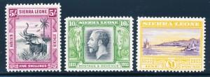 Sierra Leone #153-165