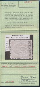 1980 APS certificate