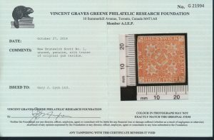 2014 V. G. Greene certificate
