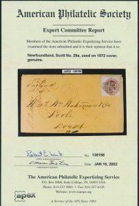 2002 APS certificate