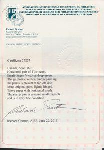 2015 Gratton AIEP certificate