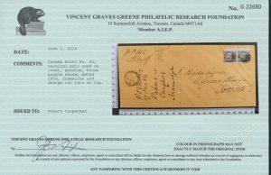 2015 V. G. Greene certificate