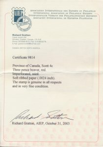 2003 Richard Gratton AIEP certificate