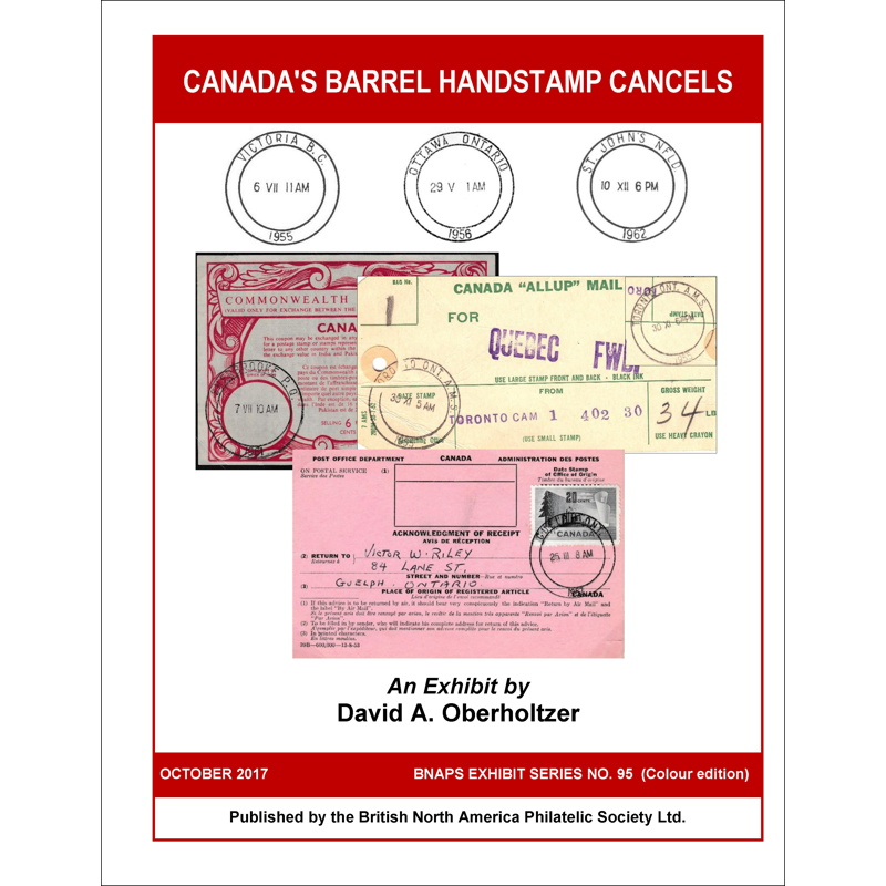 Canada's Barrel Handstamp Cancels