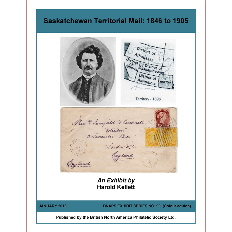 Saskatchewan Territorial Mail: 1846 to 1905