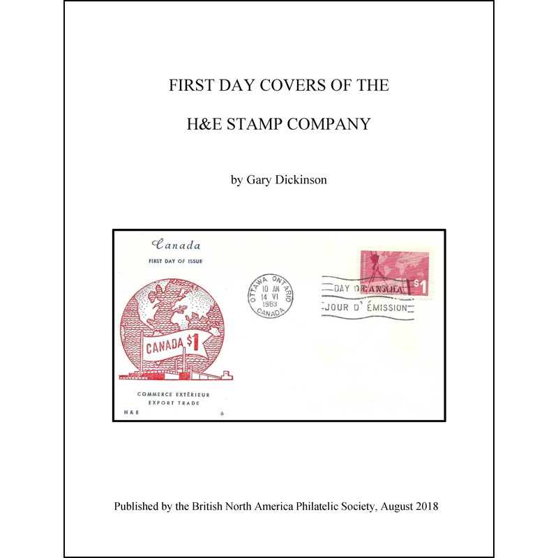 First Day Covers of the H&E Stamp Company