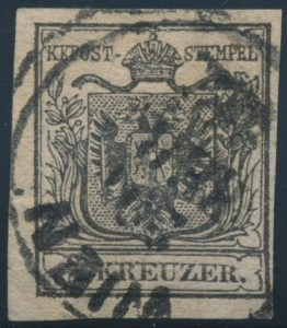 Lot 1001, Austria 1850 First Issue of the Monarchy 2 kreuzer with c.d.s., set sold for C$242