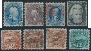 Lot 753, USA early issues group, F-VF or better, sold for C$1,092