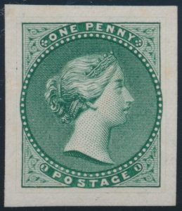 Lot 1, Engraved Die Essay of Queen Victoria, sold for C$2,415