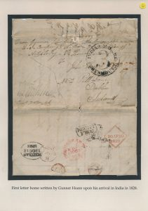 Lot 1036, 1828-55 correspondence of two Irish gunners from the East India Company, sold for C$2,457