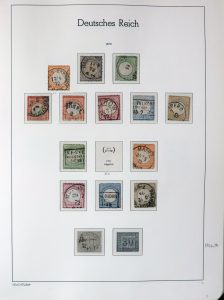 Lot 1419, Germany used collection to 1976, sold for C$1,228