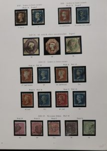 Lot 1456, Great Britain mint and used collection 1840-2014, sold for C$2,574