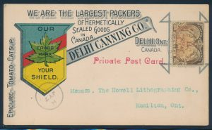 Lot 1178, group of Jubilee covers and cards, sold for C$936