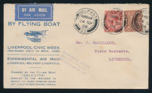 Lot 1505, British Commonwealth group of First Flight and Airmail covers, sold for C$3,510