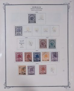 Lot 1970 Italian Colonies Mint and Used Collection