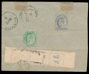 From Lot 1385, Leon V. Pont Extensive Personal Collection of Indian First Flight and Related Covers, 1911 to 1934sold for C$99,450