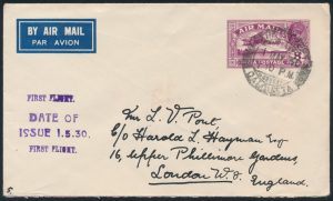 Lot 1454, 1930 First Day of Issue 8a Air Mail Stationery, sold for C$1287