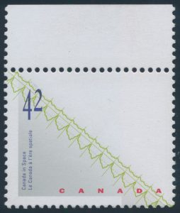 Lot 273, Canada 1992 42c Canada in Space with missing hologram