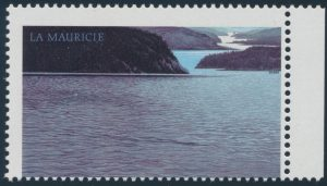 Lot 261, Canada 1986 $5 La Mauricie National Park with inscriptions omitted, sold for C$2,223
