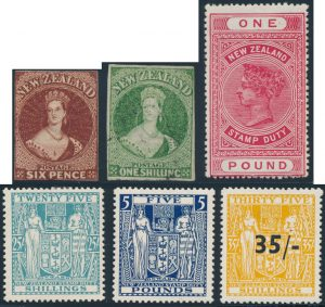 Lot 944, New Zealand 1855-1993 mint and used collection on black stock pages