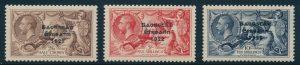 Lot 405, Ireland 1935 2sh6d to 10sh Seahorse overprint set, VF mint