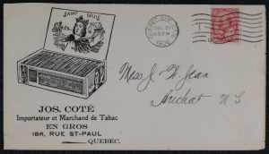Lot 758, Canada collection of 104 mostly Illustrated Advertising Covers, sold for C$1,521