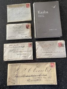 Lot 672, 1906-09 correspondence from Norway House, Keewatin, sold for C$1,287