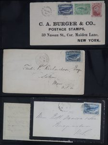 Lot 727, Newfoundland group of 35 covers with 1880-96 B.A.B.N. issues, sold for C$1,170